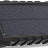 RAVPower ソーラーモバイルバッテリー
