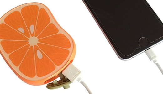 女性におすすめ!フルーツみたいなモバイルバッテリー「furu-ba(フルーバ)」