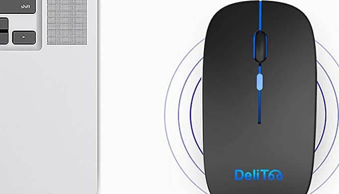 DeliToo JP ワイヤレスマウス
