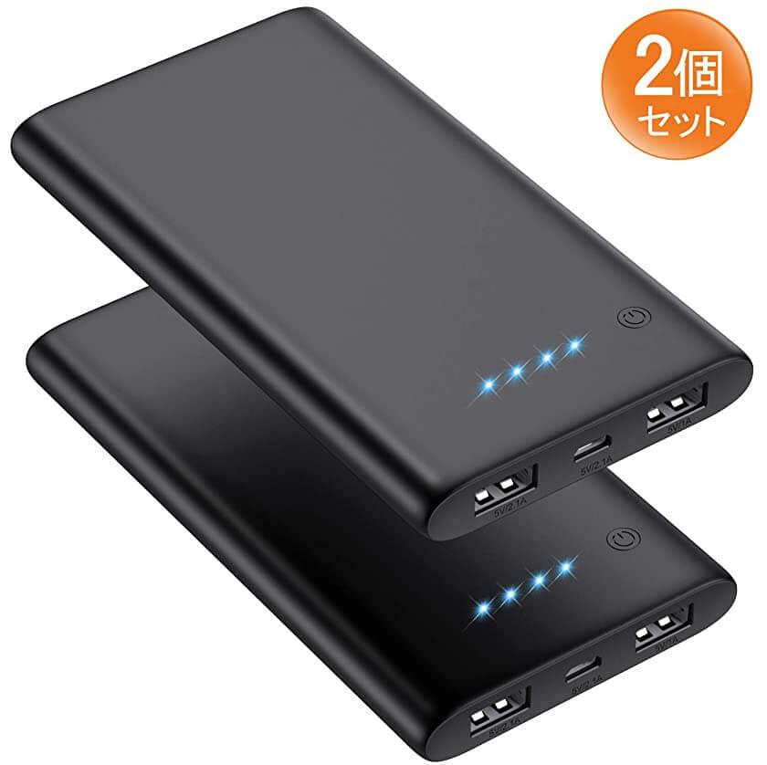 pxwaxpy 10000mAhモバイルバッテリー
