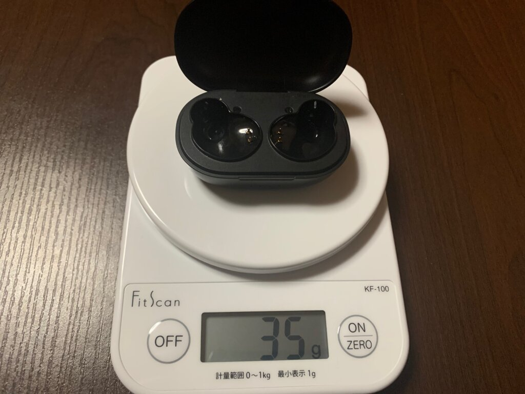 ENACFIRE E60 ケース重量
