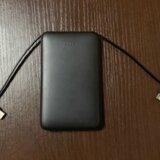 【レビュー】明誠 6800mAh ケーブル内蔵モバイルバッテリーのスペックや外観をご紹介!