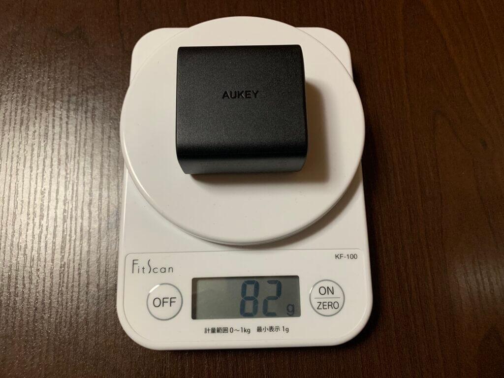 AUKEY PA-F3S 重量