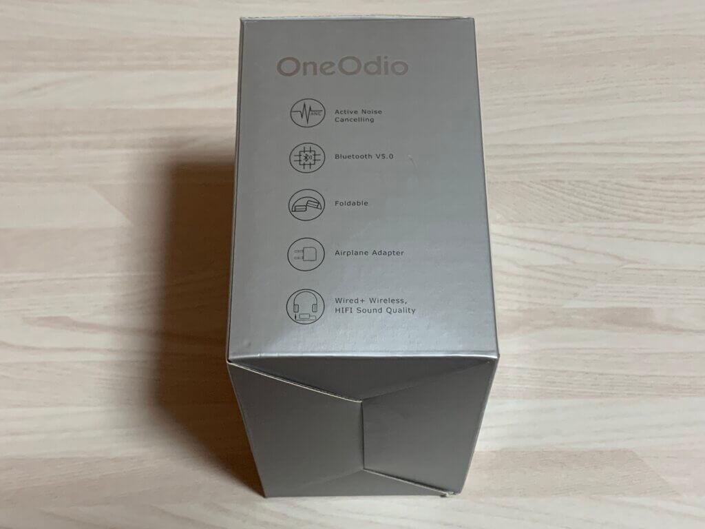 OneOdio A30 パッケージ左側面